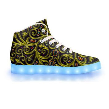 Arcanium by Sam and Cate Farrand - APP Controlled High Top LED Shoe