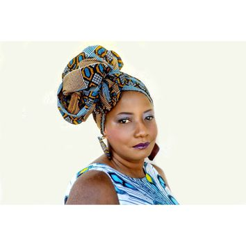 African Print Sumire Headwrap
