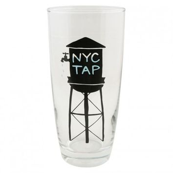 NYC Water Tower Glass - Glassware