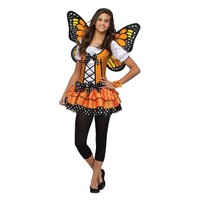 Teen Girl's Butterfly Queen Costume - Size 0-9