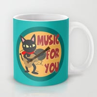 Music for you Mug by BATKEI