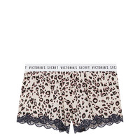 Logo Lace-trim Short - Victoria's Secret