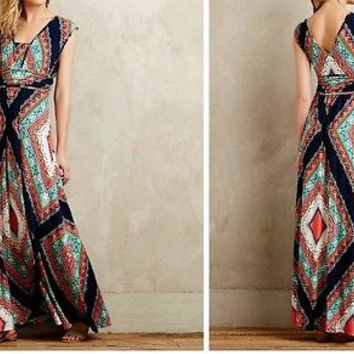 NWT Anthropologie Verda Maxi Dress Sz XL - By Maeve