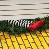 """Wizard of Oz 75th Anniversary Edition 18"""" Wicked Witch Legs Prop"""