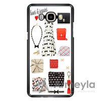 Bows And Sequins_Kate Spade New York Samsung Galaxy J3 Case | armeyla.com