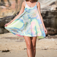 MISS TIE DYE DRESS , DRESSES, TOPS, BOTTOMS, JACKETS & JUMPERS, ACCESSORIES, $10 SPRING SALE, NEW ARRIVALS, PLAYSUIT, GIFT VOUCHER, $30 AND UNDER SALE, SWIMWEAR, SLEEP WEAR, Australia, Queensland, Brisbane