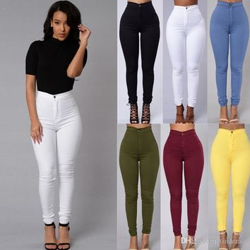 New Slim Pantss Womens Skinny Jeans For Female Free Shipping Comes in Different colors