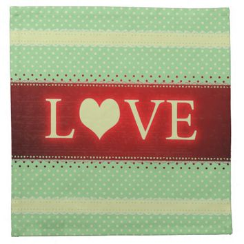 Love Cloth Napkin