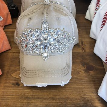 Bling Baseball Hat