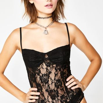 Black Rose Lanti Bodice