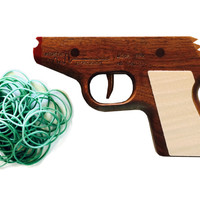 Model PPK Rubber Band Gun --- Walnut