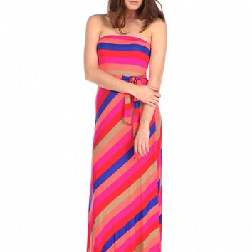 Veronica M Strapless Maxi Dress