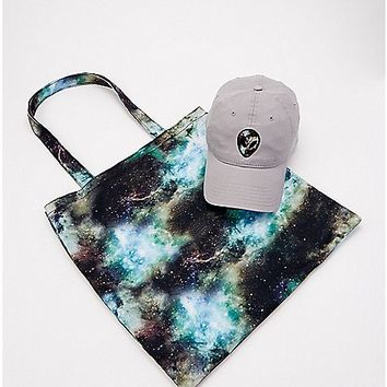Galaxy Alien Dad Hat and Tote Bag - Spencer's