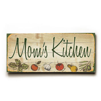Personalized Nana's Kitchen Wood Sign