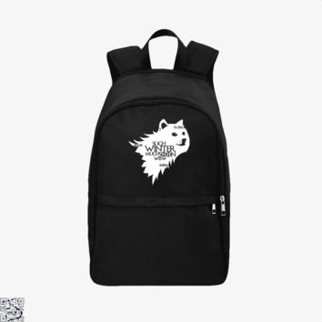 Game Of Thrones Doge Such Winter Much Soon Wow, Game of Thrones Backpack