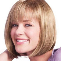 Short Lace Front Human Hair Wig