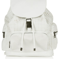 Perforated Backpack - Topshop