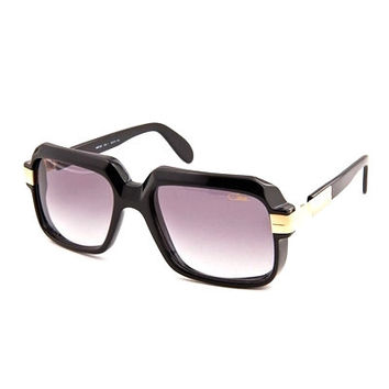 Cazal 607 Black Sunglasses