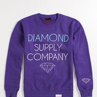Diamond Supply Co Stack Logo Crew Fleece at PacSun.com