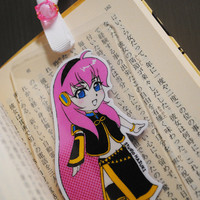 Laminated Bookmark (Business card size) / Vocaloid / Luka Megurine / Manga / Anime