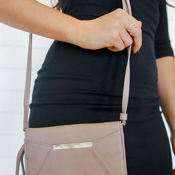 Out In The City Bag - Taupe