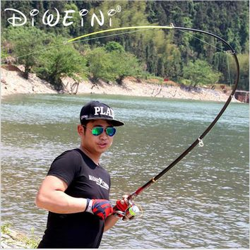 1.8M 2.1M 2.4M 2.7M 3.0M 3.6M Portable Telescopic Fishing Rod  99% Carbon Spinning Fishing Rods