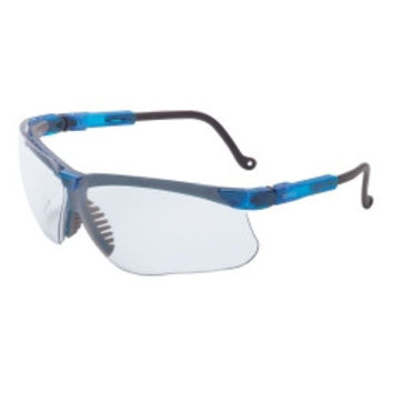 Genesis Vapor Blue Frame Glasses with Clear Lens with Fog Coating