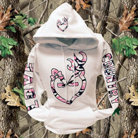 White Love Country Hoodie