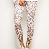 Cheetah Print Legging