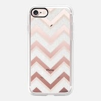 CHI CHI CHEVRON by Monika Strigel iPhone 6 transparent iPhone 7 Hülle by Monika Strigel | Casetify