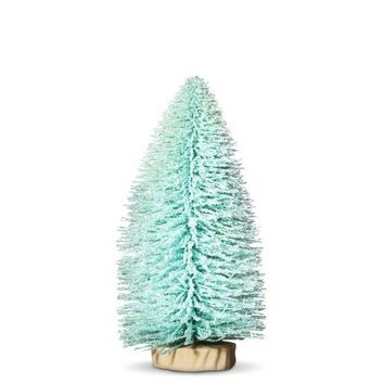 Threshold™ Turquoise Bottle Brush Tabletop Christmas Tree - 12""