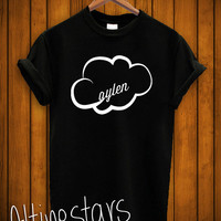 jc caylen shirt caylen cloud o2l tshirt unisex adult colour black and white
