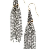 Alexis Bittar 'Elements' Faceted Ball Chain Drop Earrings | Nordstrom