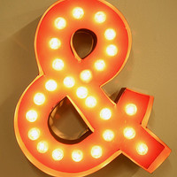 Urban Outfitters - Ampersand Marquee Light