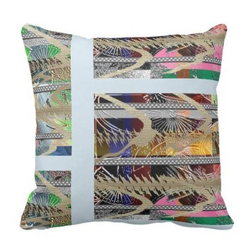 Cool Summer Chic Outdoor Pillow