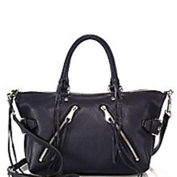 Rebecca Minkoff - Moto Leather Satchel - Saks Fifth Avenue Mobile