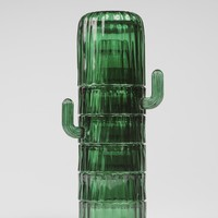 Saguaro Cactus Stackable Glasses