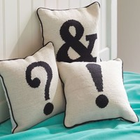 Punctuation Mark Pillows
