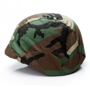 All Seasons Unisex Adult Men and Women 3D Camouflage Camo Fashion Cool Fisherman Hat Casual Helmet