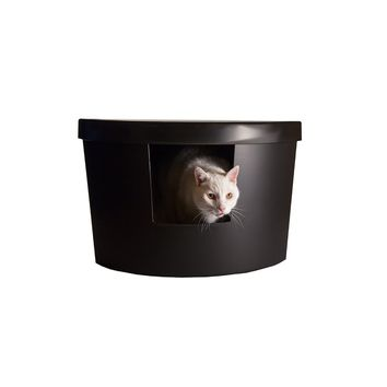 Kitangle, LLC Corner Kitty Modern Litter Box | Wayfair