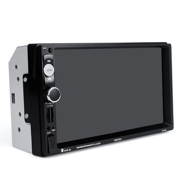 7.0 Inch Car Stereo MP5 Player with Bluetooth Touch Screen FM Radio Rear View Camera (7018G+Camera)