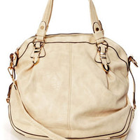 Very Important Purse-in' Cream Handbag by Urban Expressions