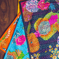 Wonderland Kantha Placemat Set of 2