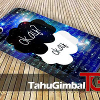 Galaxy The Fault in Our Stars 3D iPhone Case for iPhone 4/4S, iPhone 5/5S, iPhone 5C and,Samsung Galaxy S3, S4