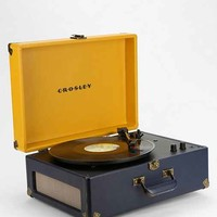 Crosley X UO AV Room Portable USB Vinyl Record Player- Dark Blue One