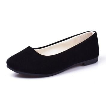 Casual loafer flat shoes in six brilliant colors  Sizes:  5 - 12