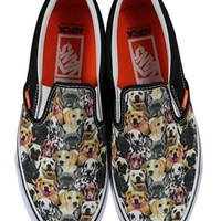 Vans ASPCA Dogs Classic Slip-On Trainers - Buy Online at Grindstore.com