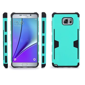 Samsung Galaxy S6 Edge Plus [Impact/Shock Resistant] Hybrid Dual Layer Armor Case w/ Card Slot for Galaxy S6 Edge Plus - Teal