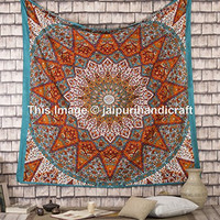 Queen Star Multicolor Tapestries Elephant Tapestry Hippie Mandala Bohemian Wall Hanging Boho College Dorm Beach Throw