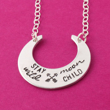 Stay Wild Moon Child - Necklace